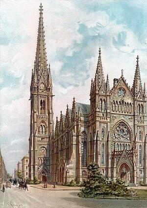 St. Peter, Leipzig - Image: Peterskirche Leipzig Schaeffer