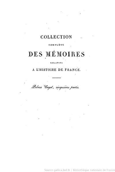 File:Petitot - Collection complète des mémoires relatifs à l'histoire de France, 1re série, tome 42.djvu
