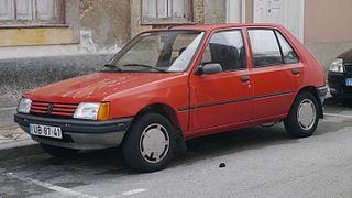 Peugeot 205 Motor vehicle
