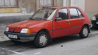 Supermini - 1983-1990 Peugeot 205