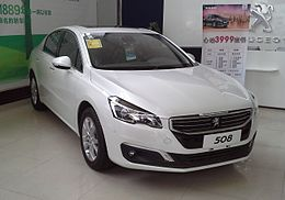 Peugeot 508 facelift China 2015-04-10.jpg
