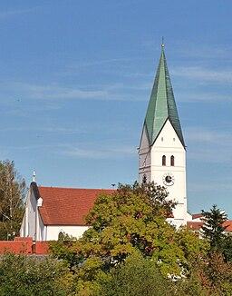 Die Pfarrkirche St. Jakob in Obersüßbach