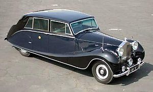 Coachbuilder - Hooper 7-seater touring limousine for HRH The Prince Regent of Iraq, 1953 on a Rolls-Royce Phantom IV chassis This car is 19 feet long and 6 ft 5 inches wide.