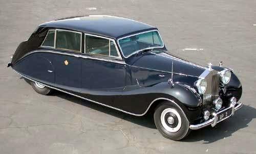 Phantom IV limousine by Hooper 1953
