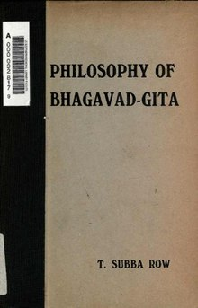 Index:Philosophy of bhagawad-gita pdf - Wikisource, the free
