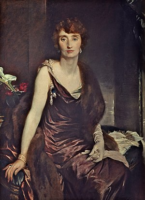 Irene Mountbatten, Marchioness of Carisbrooke - Irene Mountbatten, Marchioness of Carisbrooke, 1925, by Glyn Philpot
