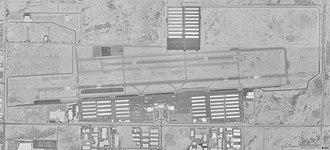 Phoenix Deer Valley Airport - Image: Phoenix Deer Valley Airport USGS 30 April 1997