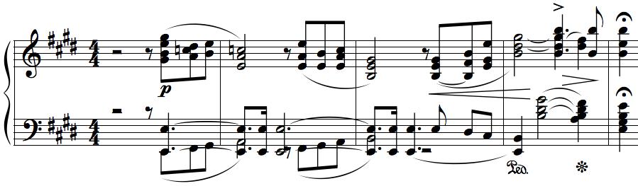 Piano Concerto No. 1, I - Moszkowski