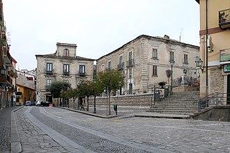 Petilia Policastro - Image: Piazza filottete petilia policastro