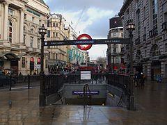 Piccadilly Circus stn south entrance.JPG