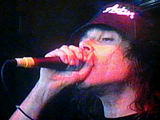 Ian Brown - Ian Brown at the Witnness festival in Ireland in 2002