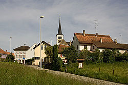 Skyline of Röschenz