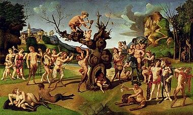 Piero di Cosimo - Bacco scoperto miele.jpg