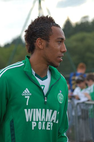 Pierre-Emerick Aubameyang - Aubameyang at Saint-Étienne in 2011