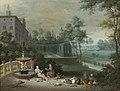 Pieter Gijsels - Vertumnus and Pomona - WGA08981.jpg