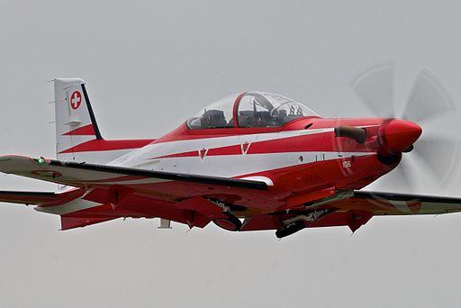 Pilatus PC-21 Payerne Airshow