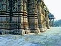 Pillars with intricate carvings- sun temple, Modhera.jpg