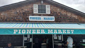Fair Harbor, New York - Pioneer Market, in downtown Fair Harbor