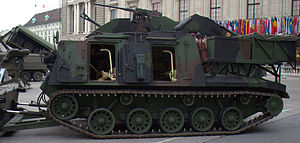 "SK-105 Kürassier - Pionier engineering vehicle ""Pionierpanzer A1"""
