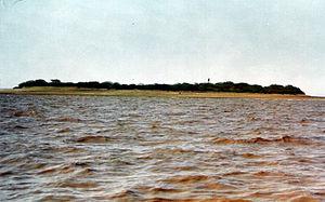 Piram Island - Piram island from the sea