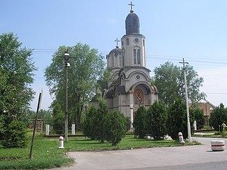 Crvenka - Image: Piros Szerb templom