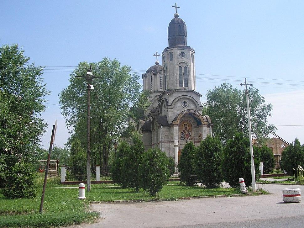 Piros Szerb templom