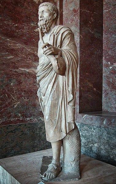 Archivo:Pitagora da Reggio - Louvre - Statua di un suonatore di lira2.jpg