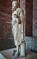 Pitagora da Reggio - Louvre - Statua di un suonatore di lira2.jpg