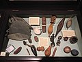 """Pitt Rivers Museum showcase in the lower gallery with topic """"Painting Materials and Techniques"""" 15 39 11 874000.jpeg"""