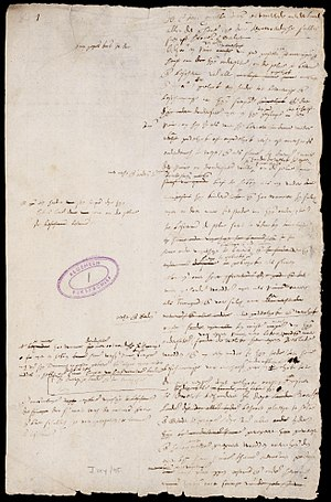 Republicanism in the Netherlands - First page of the Act of Abjuration, the Dutch declaration of independence from the Spanish monarchy. It would eventually lead to the 1588 foundation of the Dutch Republic.