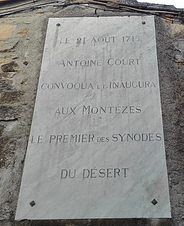 Antoine Court French reformer