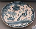 Plate with bird, Teruel, Spain, 18th century AD, ceramic - Museo Nacional de Artes Decorativas - Madrid, Spain - DSC08213.JPG