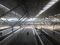 Platform of Shenzhen North Station from footbridge 2.jpg