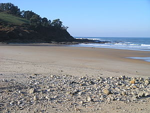 Alfoz de Lloredo - Luaña beach, Alfoz de Lloredo.