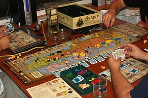 Playing the Shogun (2006) board game