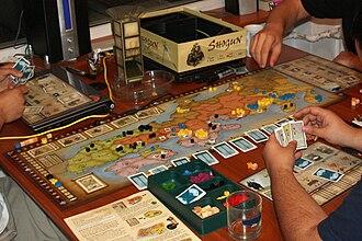 Shogun (2006 board game) - People playing Shogun