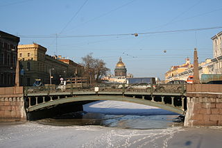 Potseluev Bridge bridge in Russia