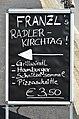 Poertschach Hauptstrasse Franzl´s Radler-Kirchtag Tafel 28042013 227.jpg