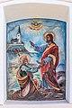 Poggersdorf Leibsdorf Ortsmitte Bildstock Jesus übergibt Himmelsschlüssel an Petrus 03012019 5785.jpg