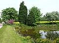 Pond near Wrottesley Hall, Staffordshire - geograph.org.uk - 797786.jpg