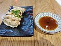 Pork gyoza in a Japanese restaurant in Brisbane.jpg