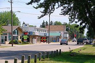 St. Clair, Ontario - Image: Port Lambton ON