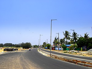 Port Road, Kollam - Image: Port Road in Kollam city, Mar 2017