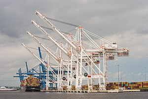 Port of Baltimore - Image: Port of baltimore pier