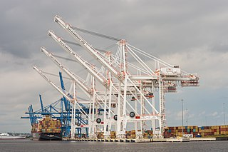 Port of Baltimore shipping port in Baltimore, Maryland, United States
