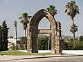 Portada gòtica del Convent del Carme (Sant Adrià de Besòs).jpg