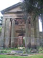 Portico, non-conformist chapel, London Road cemetery - geograph.org.uk - 896349.jpg
