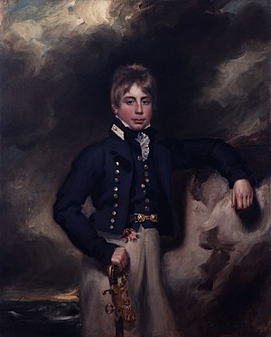 Midshipman - Portrait of Midshipman John Windham Dalling (c 1800)