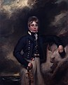 Portrait of Midshipman John Windham Dalling, RN (c 1800) by George Henry Harlow.jpg