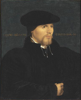 Portrait of a Man in Black, Follower of Hans Holbein the Younger, c. 1600.png